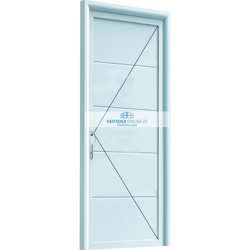 Puertas de entrada de pvc precios perfect puerta de calle Puertas calle aluminio precios