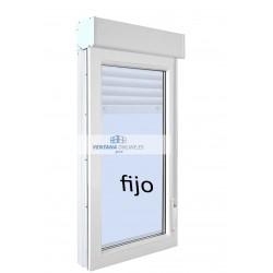 FIJO DE PVC O ALUMINIO